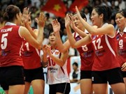 Vietnamese women finish seventh at Asian Volleyball Cup