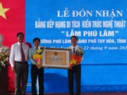 """Lam Phu Lam"" in Phu Yen recognised national architectural relic"