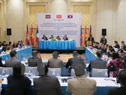 Vietnam, Laos, Cambodia discuss development triangle area