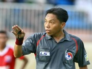 Referee wins Golden Whistle Award