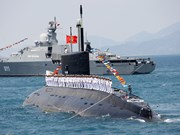 Vietnamese, Cambodian navies conduct annual joint patrol
