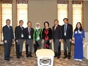 Singaporean parliament speaker keen on stronger ties with Vietnam