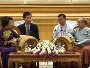 Top legislator's Myanmar visit to deepen bilateral ties