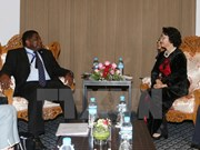 Vietnamese top legislator receives IPU Secretary General