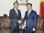 Deputy Prime Minister greets Thailand's KBank President