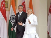 Singapore, India pledge to deepen bilateral relations