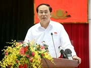 [Video] President meets Ho Chi Minh City's voters