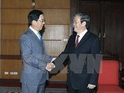[Video] Party official receives Chinese ambassador to Vietnam