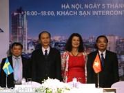 Vietnam, Sweden seek ways to promote sustainable development