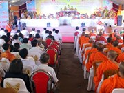 Buddhist Sangha's 35th anniversary celebrated in Kien Giang