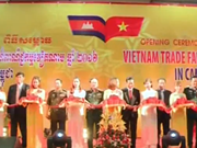 [Video] Vietnam Trade Fair kicks off in Cambodia