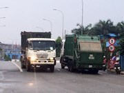 Black box for HCM City garbage trucks