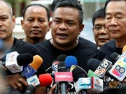 Thai Red Shirt leader imprisoned for using harsh words
