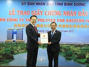 Taiwan's Far Eastern group to expand business in Binh Duong
