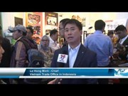 [Video] Vietnamese firms attend Trade Expo Indonesia