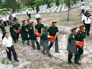 Dong Nai accelerates repatriation of martyrs' remains