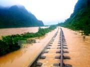 Devastating flood ravages central provinces