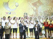Chonburi win VTV Women's Volleyball Tournament
