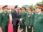 President sets tasks for Military Zone 2 armed forces