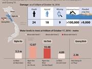 Widespread flood ravages central provinces