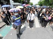 Thai government warns of instability risk