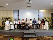 Seminar talks using rice husk