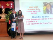 Winner for Young Francophone Reporters contest named