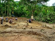 Tran-era artefacts found in Tuyen Quang province