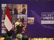 UN's 71st founding anniversary marked in Indonesia