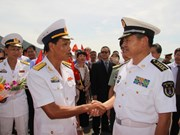 Khanh Hoa welcomes Chinese naval ships