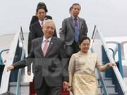 Myanmar President begins State visit to Vietnam
