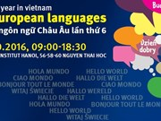 Sixth European Day of Languages to kick off in Hanoi