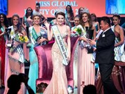 [Video] Vietnamese crowned Miss Global Beauty Queen