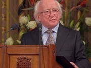 Irish President to pay State visit to Vietnam