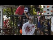 [Video] Philippines incorporates drug war into Halloween décor