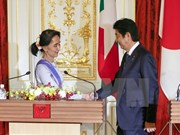 Japan pledges 7.7 billion USD for Myanmar