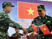 Vietnam, China hold counter-terrorism drill