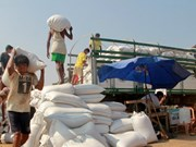 Myanmar rice exports decrease