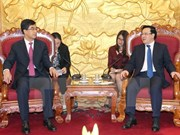 Chinese youths always stand by side with Vietnamese fellows