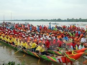 [Video]  Boat race festival enthralls people in Mekong Delta