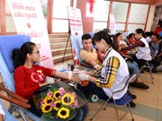 Campaign held to deal with blood shortage at year's end