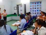 Foreign language training behind demand