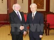 Irish President wraps up State visit to Vietnam