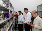 Vietnamese library opens in Vientiane
