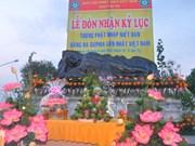 World's biggest jade Buddha statue displayed in Binh Duong