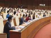 Legislature adopts resolution on State budget allocation