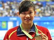 Vietnam's swimming star aims for Asian medal