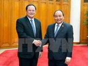 Prime Minister welcomes Lao guest