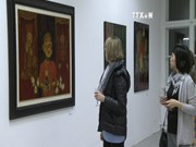 Vietnamese lacquer paintings on display in Germany
