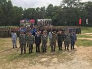 China, Malaysia undertake joint military exercises
